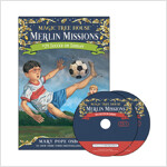 Merlin Mission #24 : Soccer on Sunday (Paperback + CD )
