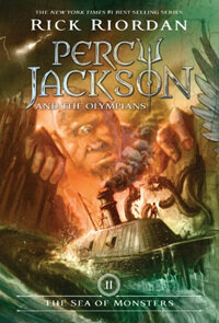 Percy Jackson and the Olympians, Book Two the Sea of Monsters (Paperback)