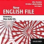New English File: Elementary: Class Audio CDs (3) (CD-Audio)