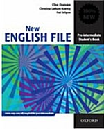 New English File Pre-Intermediate: Students Book : Six-Level General English Course for Adults (Paperback)