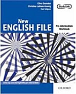 New English File: Pre-intermediate: Workbook : Six-level general English course for adults (Paperback)