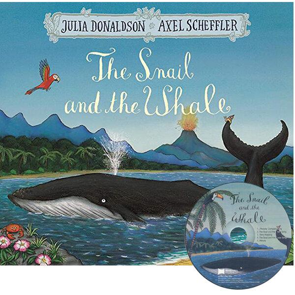 노부영 The Snail and the Whale (Paperback + CD)