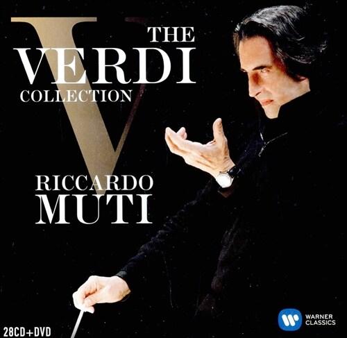 [수입] 리카르도 무티 - 베르디 컬렉션 (오리지널 커버 28CD+1DVD)
