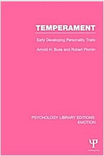 Temperament : Early Developing Personality Traits (Paperback)