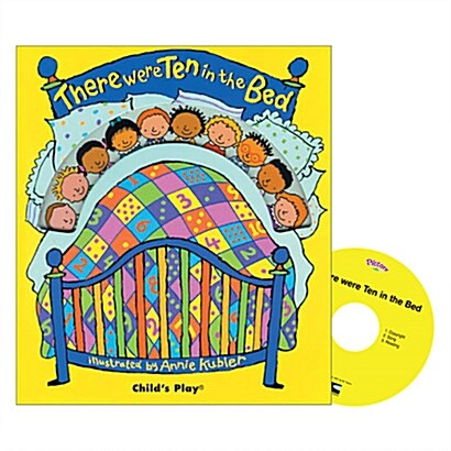 Pictory Set IT-06 / There Were Ten in the Bed (Hardcover + Audio CD )