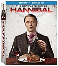 [수입] Hannibal: The Complete Series Collection Season 1-3 (한니발) (한글무자막)(Blu-ray)