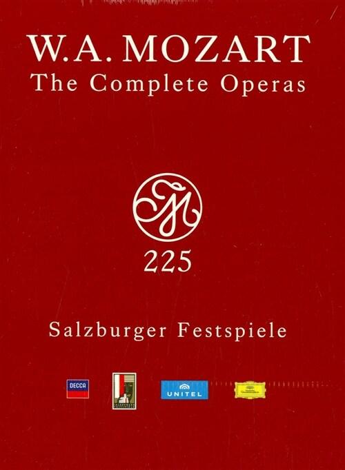 [수입] 모차르트 : 오페라 전집 (2006 잘츠부르크 페스티벌 실황 33DVD)