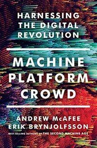 Machine, Platform, Crowd: Harnessing Our Digital Future (Hardcover)