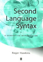 Second language syntax : a generative introduction