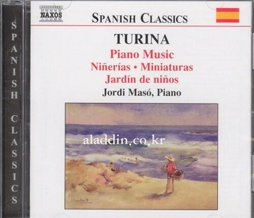 [수입] 투리나 : 피아노 작품 4집 - 작은 모음곡 1-2