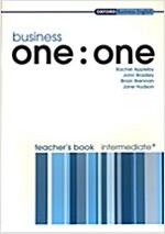 Business One:One: Intermediate Plus: Teacher's Book (Paperback)