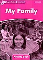 [중고] Dolphin Readers Starter Level: My Family Activity Book (Paperback)