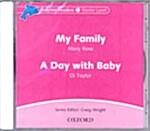 [중고] Dolphin Readers: Starter Level: My Family & A Day with Baby Audio CD (CD-Audio)