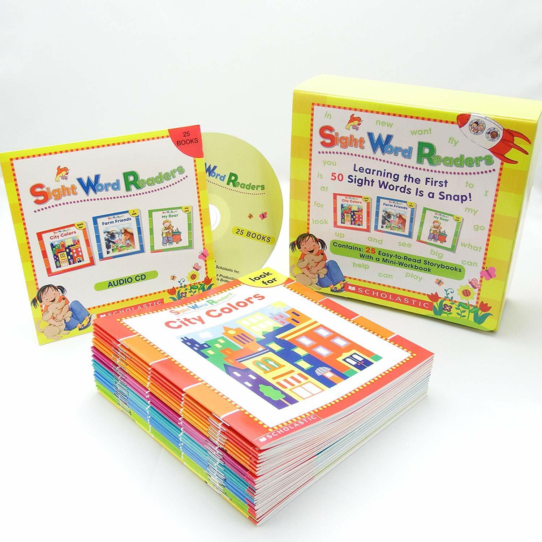 Sight Word Readers (Book+CD) Boxed Set (Paperback 25권 + Audio CD1장 + 미니워크북 1권)