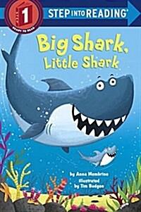 Big Shark, Little Shark (Paperback)