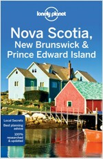Lonely Planet Nova Scotia, New Brunswick & Prince Edward Island (Paperback, 4)