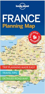 Lonely Planet France Planning Map (Folded)