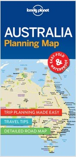 Lonely Planet Australia Planning Map (Folded)