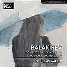 [수입] 발라키레프 : 피아노 전곡 3집