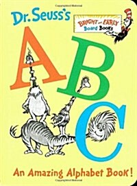Dr. Seusss ABC: An Amazing Alphabet Book! (Board Books)