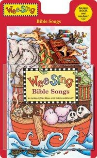 Wee Sing Bible Songs [With CD (Audio)] (Paperback)