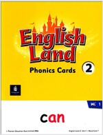 English Land 2 (Phonics Cards)