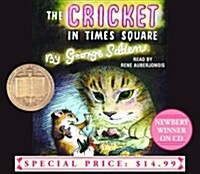 The Cricket in Times Square (Audio CD, Unabridged)