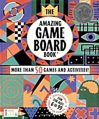 The Amazing Game Board Book (Board Game, Spiral)