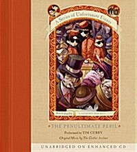 A Series of Unfortunate Events #12: The Penultimate Peril CD (Audio CD)