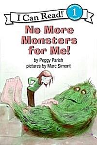 [중고] No More Monsters for Me! (Paperback)