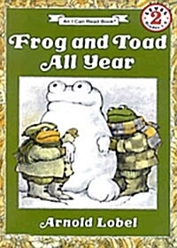 [I Can Read] Level 2 : Frog and Toad All Year (Paperback + 테이프 1개)