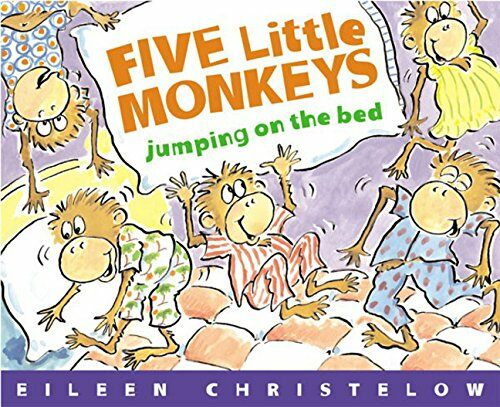 Five Little Monkeys Jumping on the Bed (Paperback)