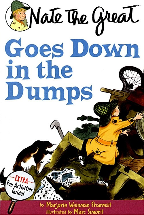 Nate the Great Goes Down in the Dumps (Paperback)