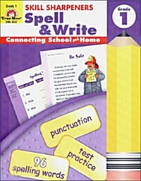 Skill Sharpeners Spell & Write Grade 1 (Paperback, Teacher)