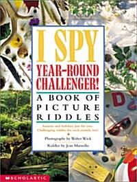 [중고] I Spy Year Round Challenger: A Book of Picture Riddles (Hardcover)