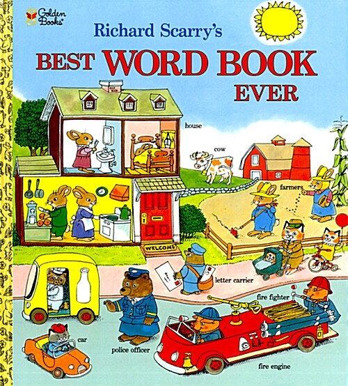 Richard Scarrys Best Word Book Ever (Hardcover, REV)