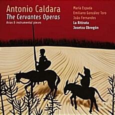 [수입] 칼다라 : 세르반테스 (돈키호테 오페라의 아리아와 기악곡들)