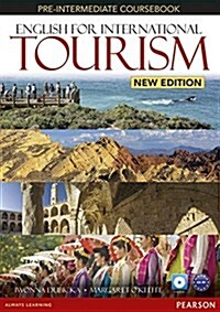 English for International Tourism Pre-Intermediate New Edition Workbook without Key and Audio CD Pack (Package, 2 ed)