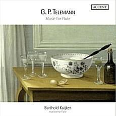 [수입] 텔레만 : 플루트를 위한 독주곡과 실내악곡들 (플루트를 위한 판타지아 외) [4CD]