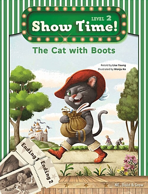 Show Time Level 2 : The Cat with Boots (스토리북 + 워크북)