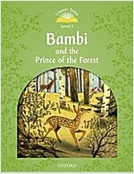 Classic Tales: Level 3 : Bambi Audio Pack (Paperback + Audio Download)