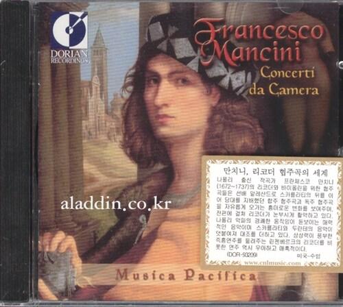 [수입] 프란체스코 만치니 : 실내 협주곡 선집, 두란테 : 협주곡 & D.스카를라티 : 신포니아