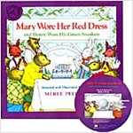 노부영 Mary Wore Her Red Dress (Paperback + CD)
