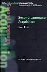 [중고] Second Language Acquisition (Paperback)