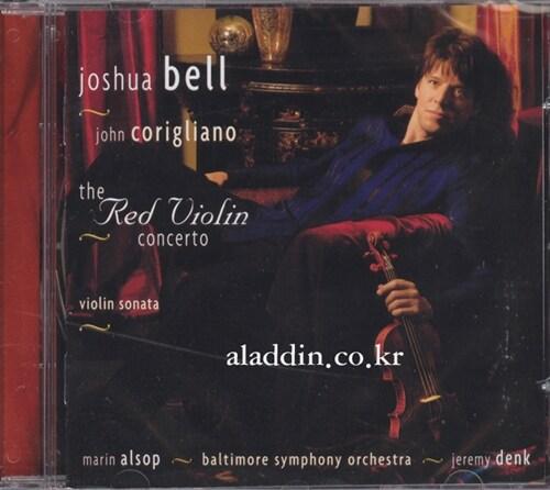 [수입] 코릴리아노 : 레드 바이올린 협주곡 & 바이올린 소나타