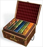 Harry Potter Hard Cover Boxed Set: Books #1-7 [With Stickers] (Boxed Set)
