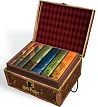 Harry Potter Hardcover Boxed Set: Books 1-7 [With Stickers] (Boxed Set)