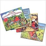 Adventures of the Little Red Train 시리즈 4종 (Book + Audio CD) 세트 (4 Paperback + 4 Audio-CD)