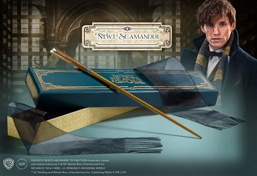 The Wand of Newt Scamander with Collectors Box (Toy)