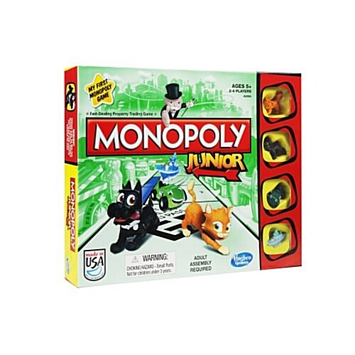 Monopoly Junior Board Game (Toy)